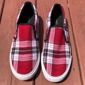 Plaid Forever 21 Slip-On Sneakers